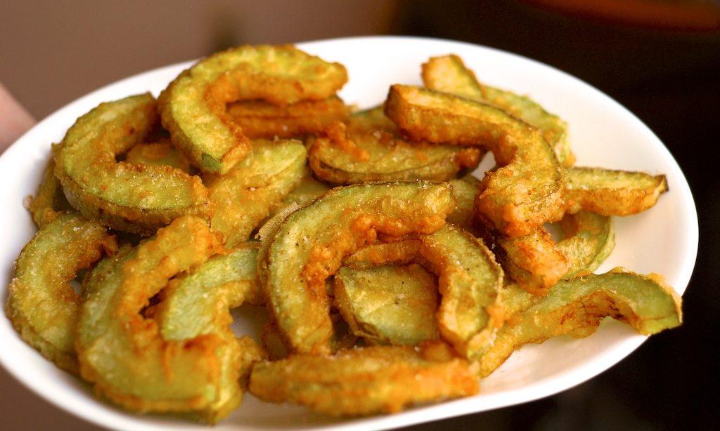 marrow tempura